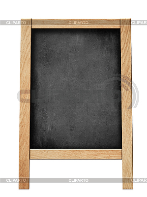 Standing blackboard for your offer or menu | Foto stockowe wysokiej rozdzielczości |ID 3656926