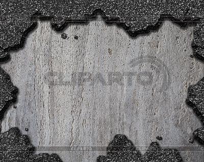 Beschädigt Asphalt Loch Hintergrund | Foto mit hoher Auflösung |ID 3657136