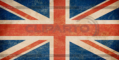 Grunge британским флагом | Иллюстрация большого размера |ID 3657377