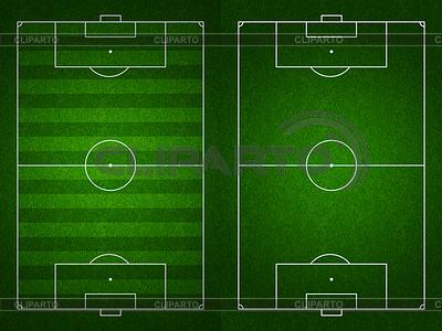 Piłka nożna lub boisko do piłki nożnej i boisko do widoku z góry | Stockowa ilustracja wysokiej rozdzielczości |ID 3657385