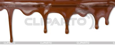 Flüssige Schokolade tropft von Kuchen mit cli | Foto mit hoher Auflösung |ID 3659008