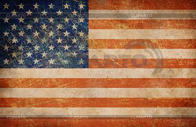 배경으로 그런 지 미국 국기 | 높은 해상도 사진 |ID 3659703
