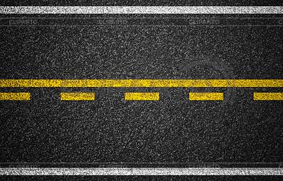 Asphalt Autobahn mit Straßenmarkierungen Hintergrund | Foto mit hoher Auflösung |ID 3659865