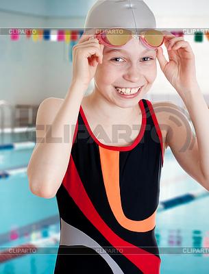 Leere neue Schule Swimmingpool | Foto mit hoher Auflösung |ID 3660958