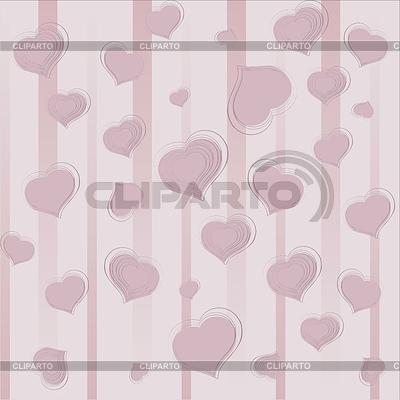 Hintergrund mit Herzen | Stock Vektorgrafik |ID 3683409