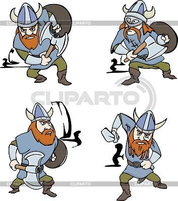 Nordic Vikings | Klipart wektorowy |ID 3687149
