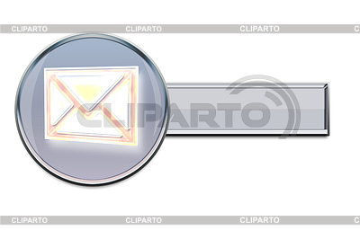 E-mail Web-Button | Illustration mit hoher Auflösung |ID 4587659