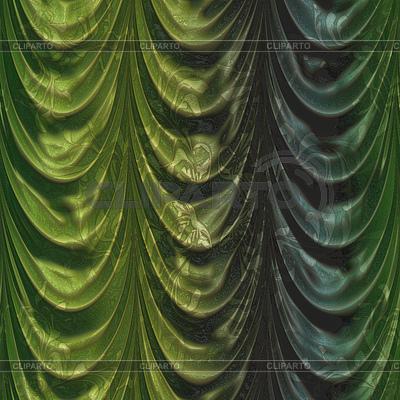 Zielona kurtyna z wzoru | Stockowa ilustracja wysokiej rozdzielczości |ID 4593968