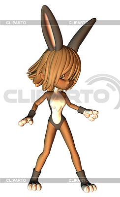 большого размера костюм заяц плейбой фото