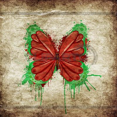 Retro Schmetterlingsdesign | Foto mit hoher Auflösung |ID 4601319