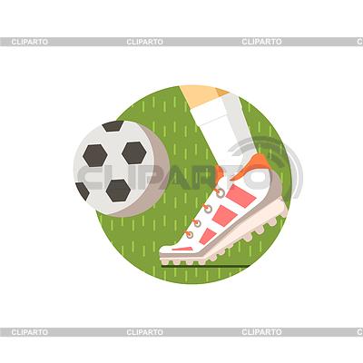 Детски футбол с рисунки футбол